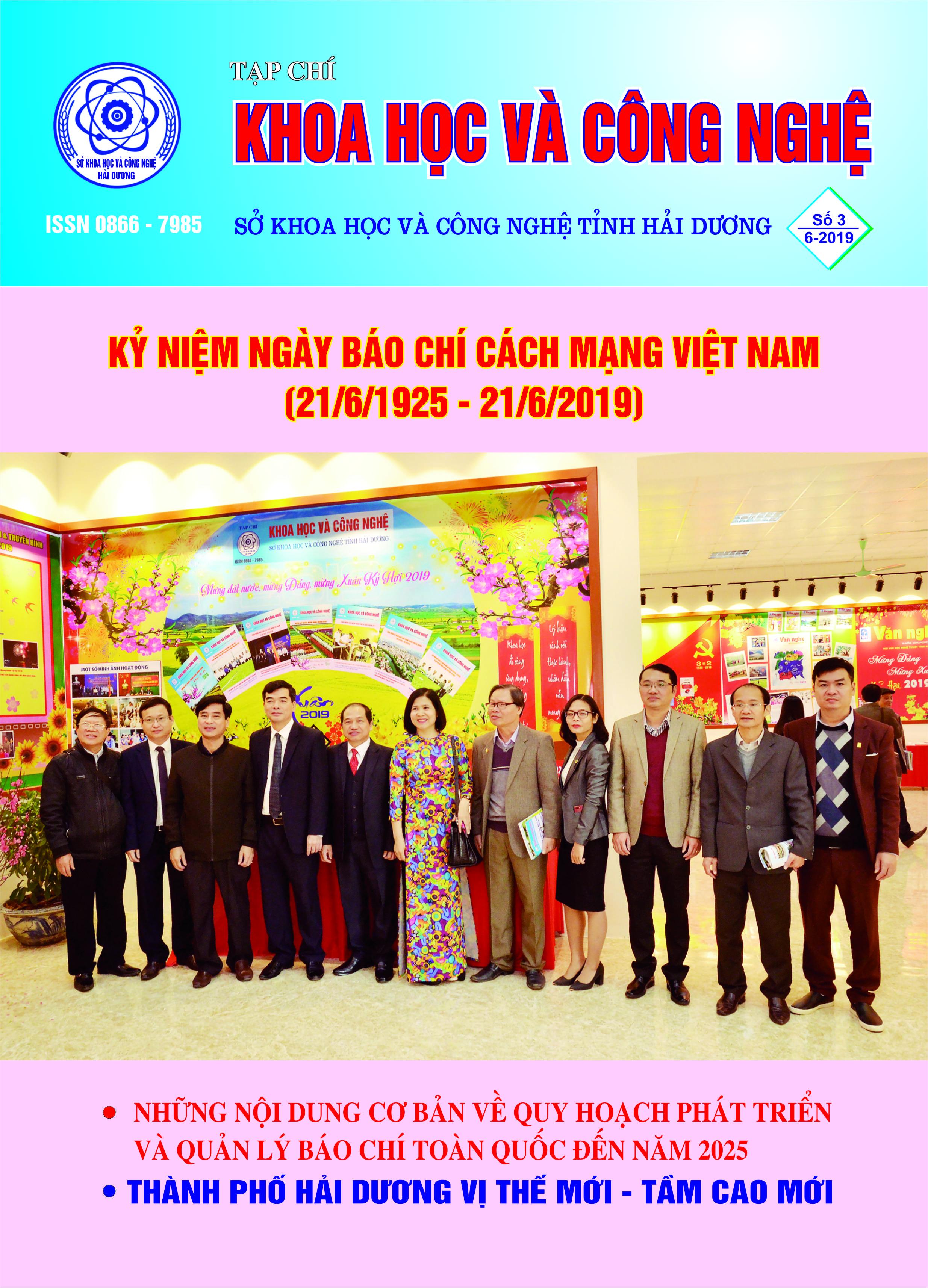 Tạp chí số 3 - 2019