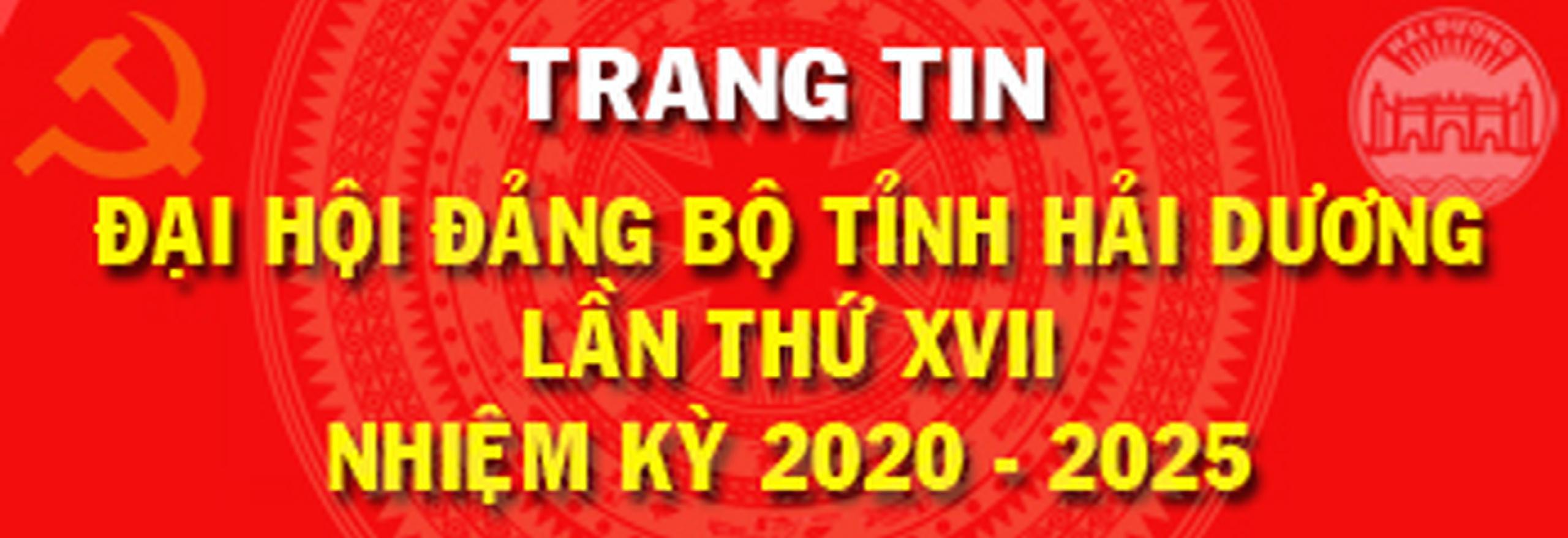 Trang Thông tin Đại hội Đảng bộ tỉnh Hải Dương