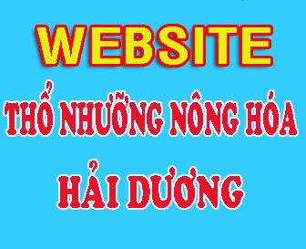 Website Thổ nhưỡng - Nông hóa Hải Dương